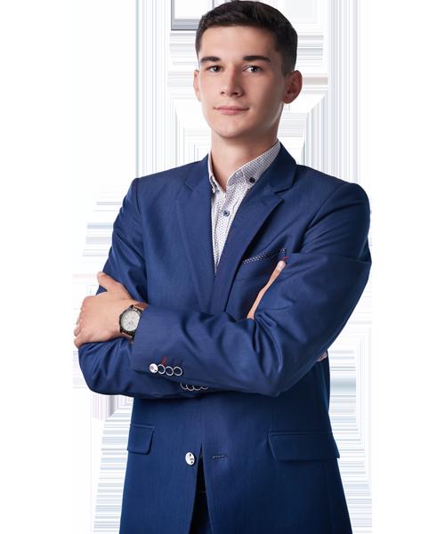 Michał Gąsior - Starszy doradca ds. sprzedaży nieruchomości w Biurze Nieruchomości Ideal Home w Rzeszowie.